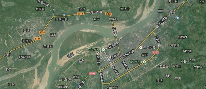 资溪县鹤城镇地图